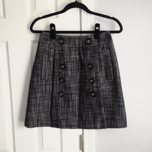 BCBGMaxAzria Dresses & Skirts - BCBGMaxAzria tweed mini skirt